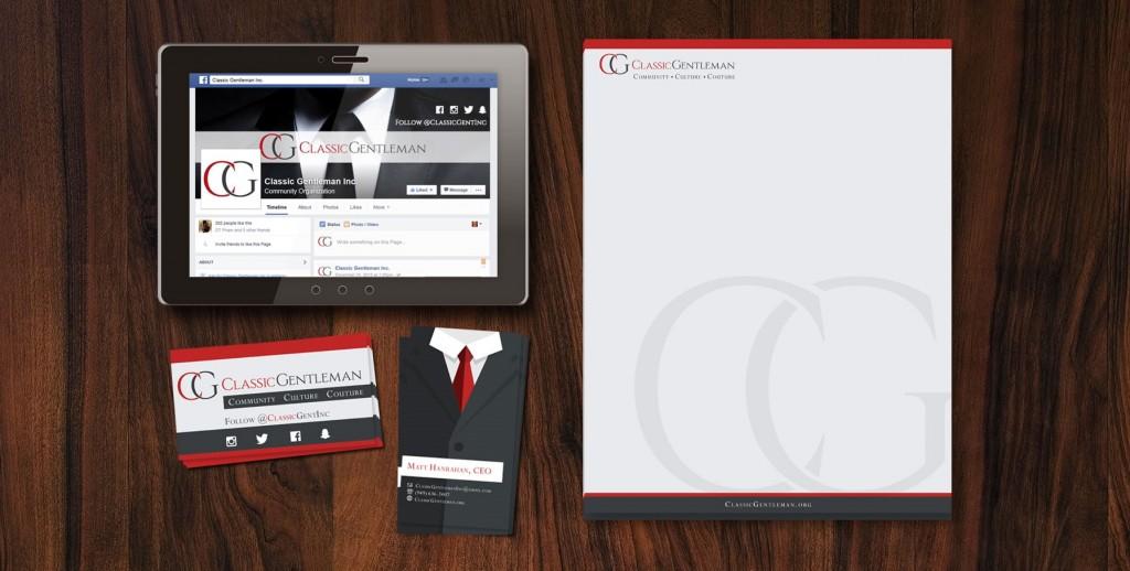 Classic Gentleman Logo Launch Pixalien